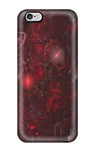Fashion Tpu Case For Iphone 6 Plus- Artistic Defender Case Cover