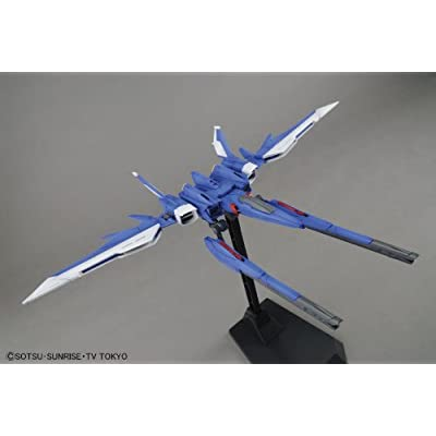 Bandai Hobby MG Build Strike Gundam Full Package Model Kit (1/100 Scale): Toys & Games