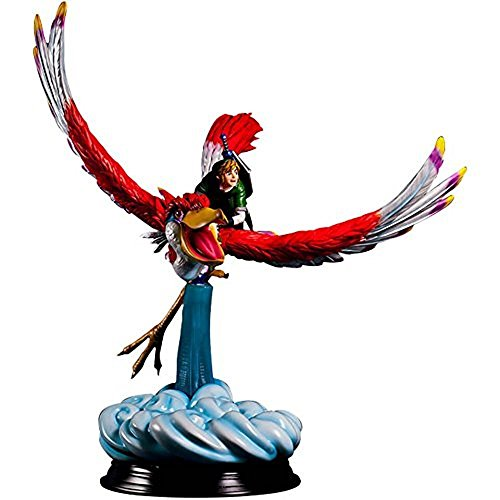 First 4 Figures Legend of Zelda: Link on the Crimson Loftwing Statue