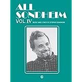 All Sondheim, Vol 4: Piano/Vocal/Chords