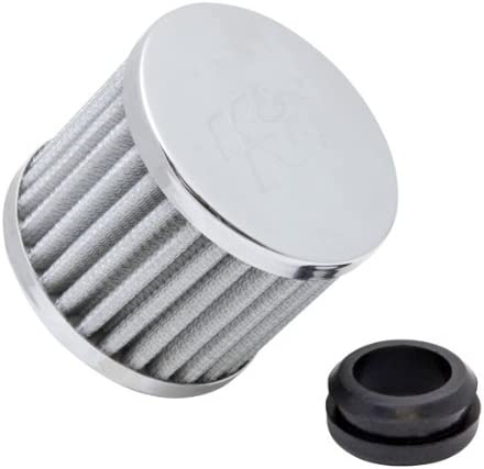 76 mm K/&N 62-1580 Vent Air Filter // Breather: Vent Air Filter// Breather; 1.25 in 64 mm Height; 3 in 32 mm Top Flange ID; 2.5 in Base; 3 in 76 mm