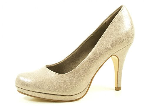 Tamaris 22407 Plateau Metallic 1 Pumps High Schuhe 350 29 Stiletto Heels rCxrvq5