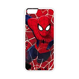 iPhone 6 Plus 5.5 Inch Cell Phone Case White Spider Man Lunges Wocbb