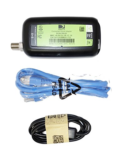 Case Of 48 - DIRECTV Broadband DECA Ethernet To Coax Adapter - 3RD Generation (Each With Ethernet And Micro USB Cables) by DIRECTV (Image #3)