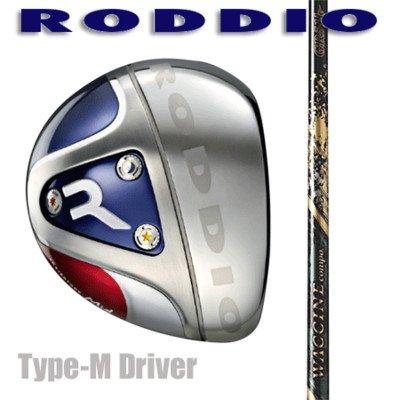 RODDIO ドライバー Type-M ワクチンコンポGR51k R3 10.5°/ブラック   B01BLXYDNY