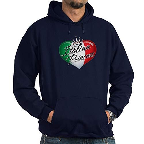 CafePress CP1013 Italian Princess Pullover Hoodie, Classic &