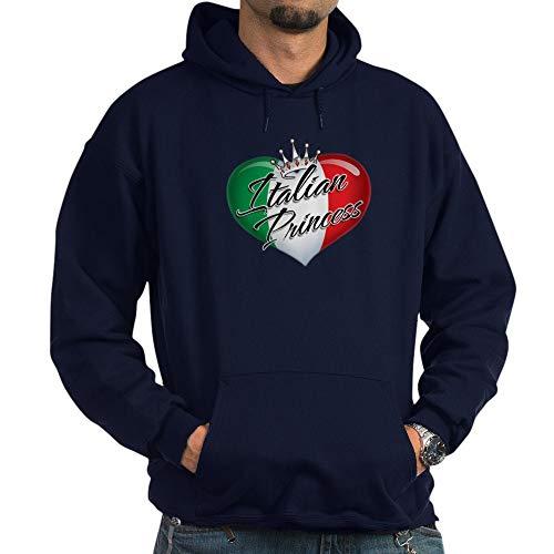 CafePress CP1013 Italian Princess Pullover Hoodie, Classic & Comfortable Hooded Sweatshirt Navy]()