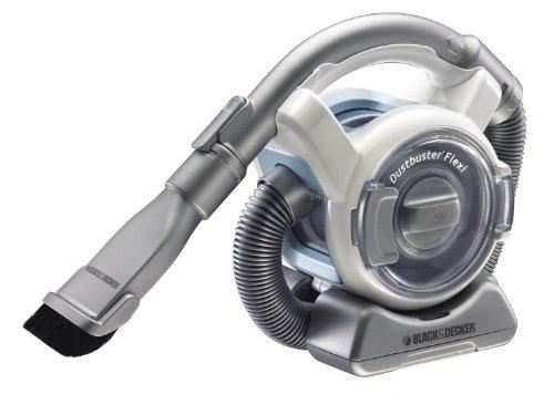 Black & Decker 12 V Flexi Vac Cordless Dustbuster Handheld Bagless Battery Vacuum Cleaner