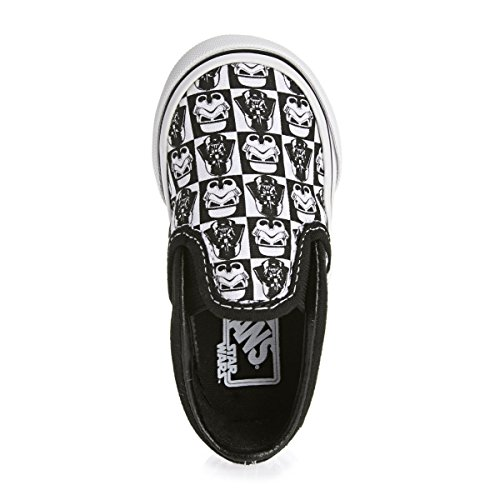 VANS Chaussures Enfants - CLASSIC SLIP ON - Star Wars Dark Side Checkerboard