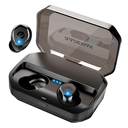 Rademax Wireless Earbuds,True Bluetooth in-Ear Headphones 70+ Hours Rechargeable Battery Life Wireless Earphones 3350 mAh of Charging Case Has Latest Bluetooth 5.0, IPX7 Waterproof, HiFi Sound, w/Mic