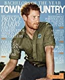 Town & Country Magazine (February, 2017) Prince Harry Cover