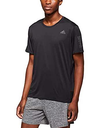 adidas Men's CG2190 Response Cooler T-Shirt, Black, Small