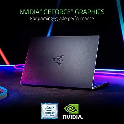 "Razer Blade Stealth 13.3"" Thin, Light Gaming Laptop - Slim Bezel Full HD - NVIDIA GeForce MX150 - Intel Core i7-8565U - 16GB RAM - 256GB SSD - Windows 10 - CNC Aluminum"