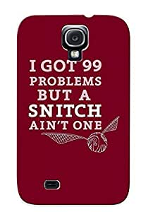 New Diy Design 99 Problems But A Snitch Ain One For Galaxy S4 Cases Comfortable For Lovers And Friends For Christmas Gifts