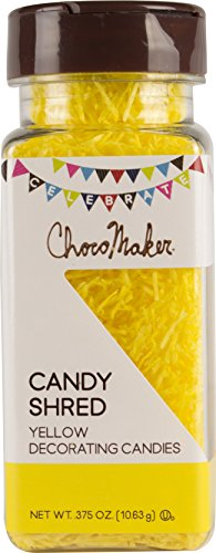 Choco Maker Candy Shred Decorating Sprinkles 0.375 Ounce, (0.375 Ounce Bottles)