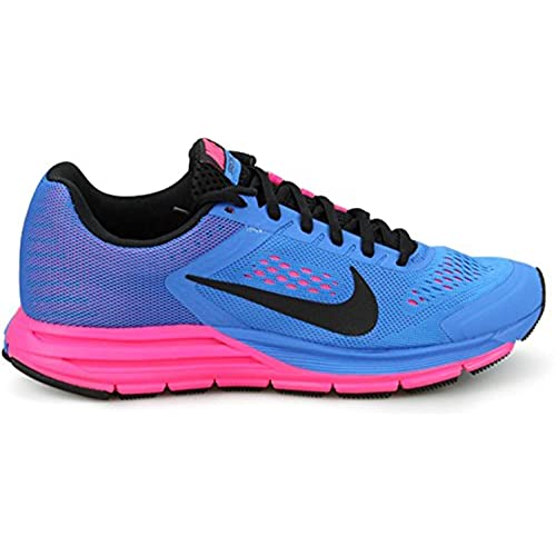 874b5299c7ea free shipping Nike Wmns Zoom Structure+ 17 Photo Blue Hyper Pink  (615588-400)