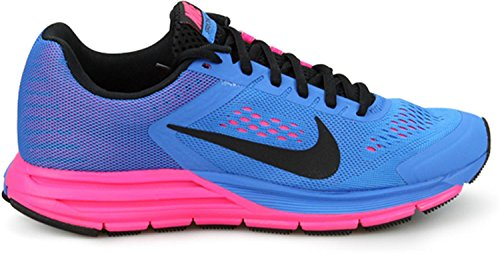 Nike Wmns Zoom Structure + 17 Foto Blue Hyper Pink (615588-400)