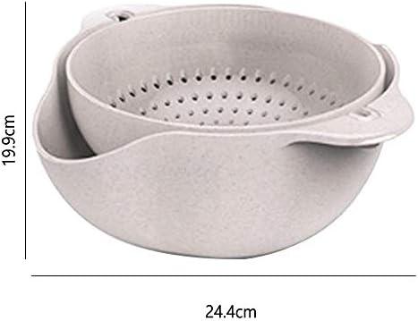 xxccxx Waschkorb, entleerung Topf, entleerung Korb, Box, küche Kunststoff, doppel obstschale, Wohnzimmer, Haushalt