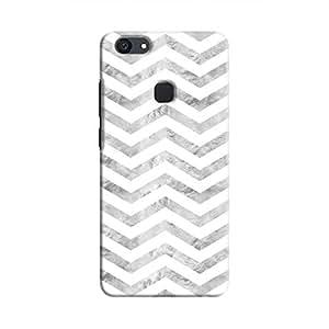 Cover It Up - Silver White Tri Stripes V7 Plus Hard case