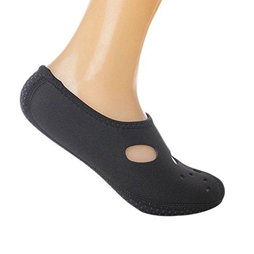 Haodasi Anti-slip Water Sports Dive Swim Snorkeling Socks Soft Shoes Skin Shoes Swimwear Black kxrWrwH6r
