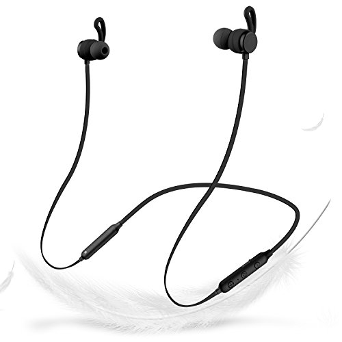 Wireless Bluetooth Headphones, TUSBIKO in Ear Stereo V4.2 Bluetooth Earbuds w/Mic,Fast Charging Sweatproof Neckband Sport Earphones,12 Hrs Working Time, CVC6.0 Noise Cancelling Headset