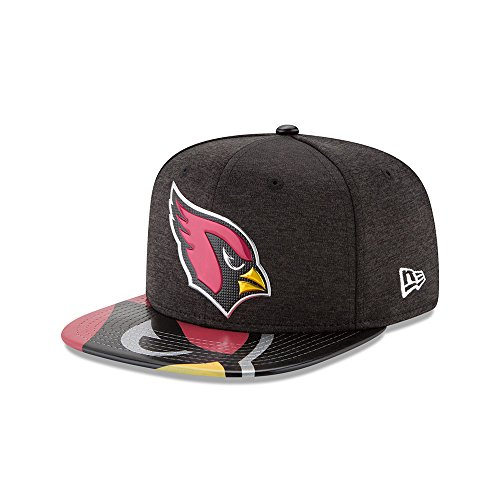 New Era Arizona Cardinals Draft On Stage 2017 NFL Limited Edition Snapback Cap S M 9fifty 950 negro