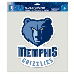 NBA Memphis Grizzlies Die-Cut Color Decal, 8