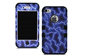 Kaseberry CBCarryberry iPhone 4S/4 Dual Layer Hard and Soft Hybrid Armor Combo Case