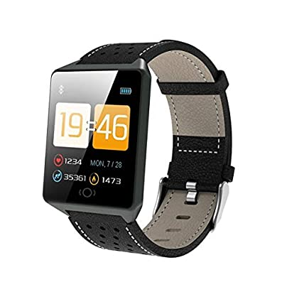 DMMDHR Smart Wristband Heart Rate Monitor Smart Fitness Bracelet Blood Pressure Pedometer IP67 Waterproof Estimated Price £60.00 -