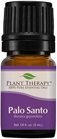 Plant Therapy Palo Santo Essential Oil 100% Pure, Undiluted, Natural Aromatherapy, Therapeutic Grade 5 mL (1/6 oz)