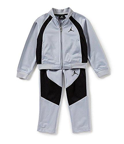 89087b53d Top2: Jordan Nike Air Little Boy\'s Tricot Tracksuit Jacket & Pants Set