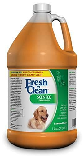 Lambert Kay Fresh'n Clean Scented Dog and Cat Shampoo, 1-Gallon