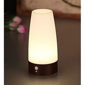 Amazon all in 1 cordless table lamps for living room bedroom pir motion sensor night lightlovingvs battery operated retro small cordless led table lamp bar decrative lighting lamps for washstand bedsidebedroom aloadofball Gallery
