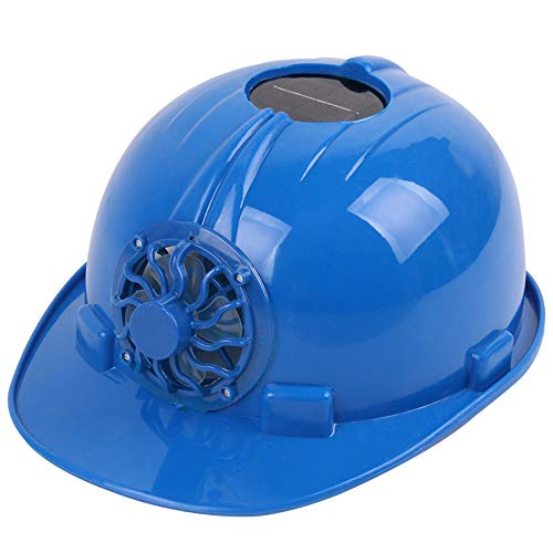 GOVOW-Tech Ultimate Solar Powered Cooling Fan Safety Helmet Work Hard Cap Hat Head ()