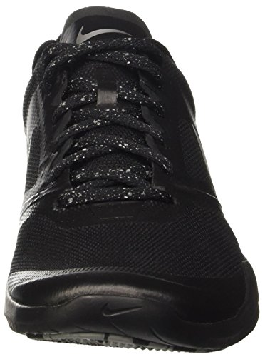 Wmns Studio Metallic Trainer Noir De 2 black Nike Chaussures Femme Tennis Silver qUZxAwn1d