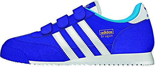 adidas Dragon Cf C - Zapatillas Unisex Niños night flash/ftwr white/solar blue