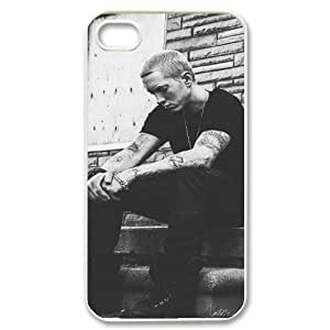 Cool Painting Eminem Unique Fashion Printing Phone Case for Iphone 4,4S,personalized cover case case-690553