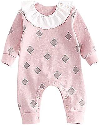 Bebé Unisex Mameluco - ReciéN Nacido Pelele de Algodón Linda Pijama ...
