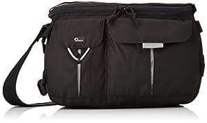 Lowepro Photo Runner 100 black, LP36126 (Shoulderbag/Beltpack for D-SLR w/1-2 lenses. Size (int.): 25,5x11,5x19,5cm)