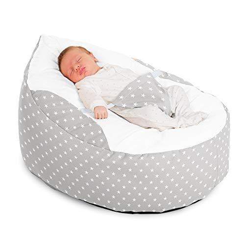 Awe Inspiring Rucomfy Luxury Cuddle Soft Stars Gaga Baby Bean Bag Machost Co Dining Chair Design Ideas Machostcouk