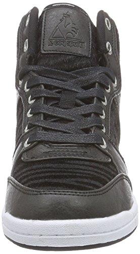 Nero Kimmy Mid Sneaker Nero Nero Le Sportif Coq SR Alte Donna 87wxFO