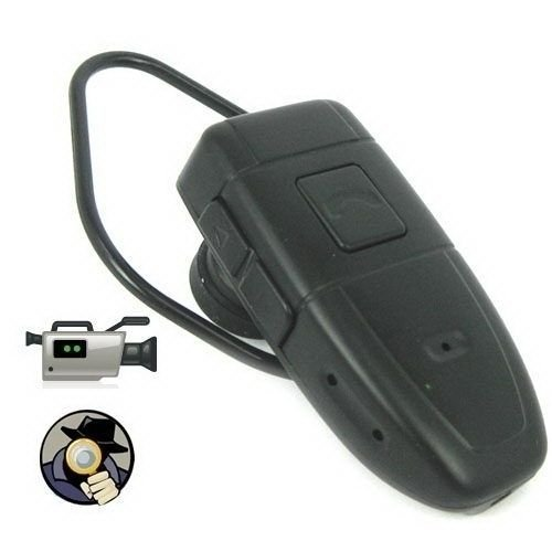 Ugetde® 4GB Spy Bluetooth Earpiece Hidden Camera with Audio