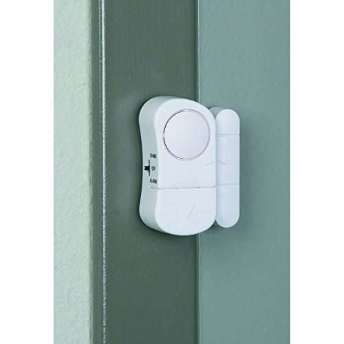 Door/Window Entry Alarm with Magnetic Sensor, Pack of 8
