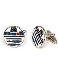 R2D2 Cufflinks, Star Wars Tie Clip, Jedi Tie Tack Jewelry, Darth Vader Cuff Links, Kylo Stormtrooper Death Star Gift, Star Wars C3PO Wedding Party Groomsman Gifts
