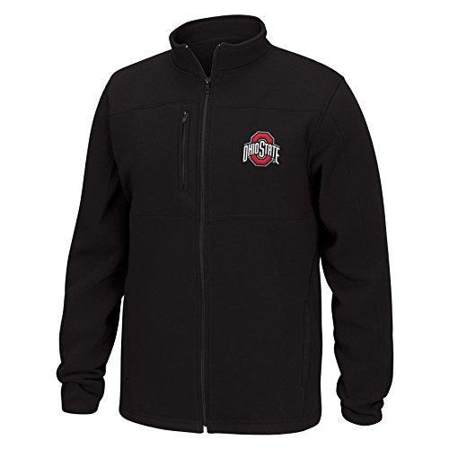 - NCAA Ohio State Buckeyes Men's Quest Brushed Poly Jacket, Medium, Black