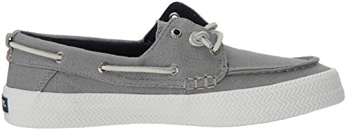Rope Resort Top Sider Sneaker Women's Grey Sperry Crest XqIxUww
