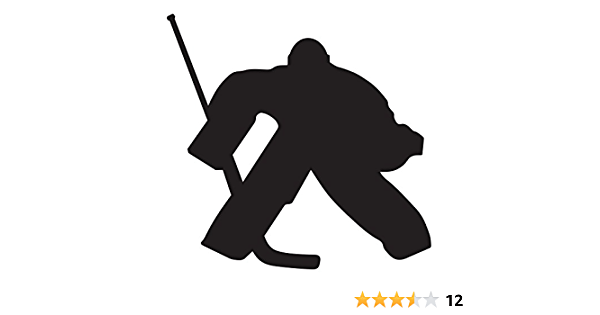 A/&R Sports Hockey Player Magnet /& Decal