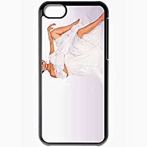 Personalized iPhone 5C Cell phone Case/Cover Skin Ashley judd movies Black