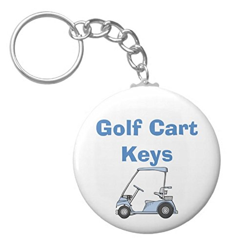 A&T Designs Golf Cart Keys 2.25