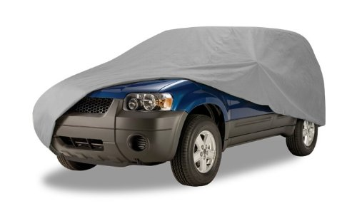 (Budge URB-1 Grey Medium 186 inches SUV Cover)